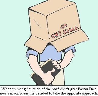 Christian cartoons with Bible verses, by Chad LaForce.