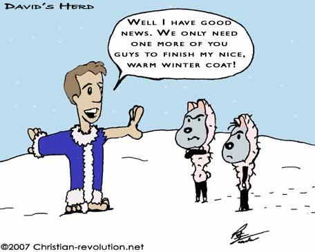 David's Herd Christian Comic - Christian-revolution.net