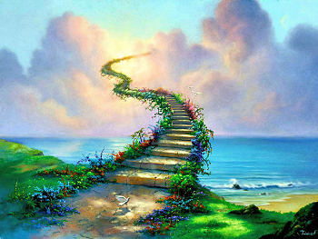 Stairway up to Heaven.